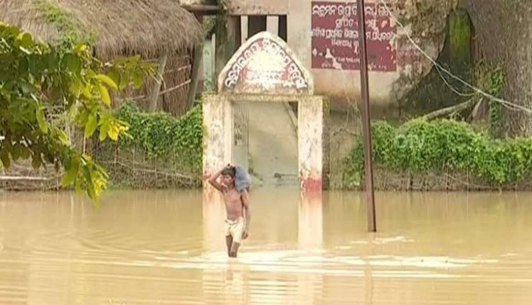 Union Minister Pratap Sarangi Seeks Flood Mitigating Measures For Bhograi