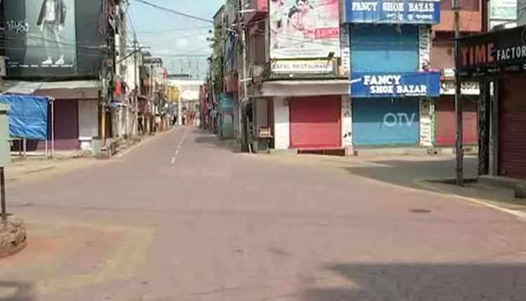 total lockdown in Ganjam