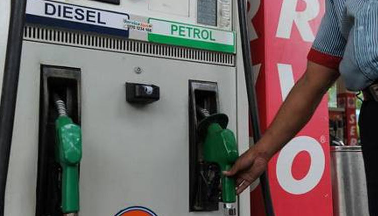 Petrol price hiked by 40 paise per litre