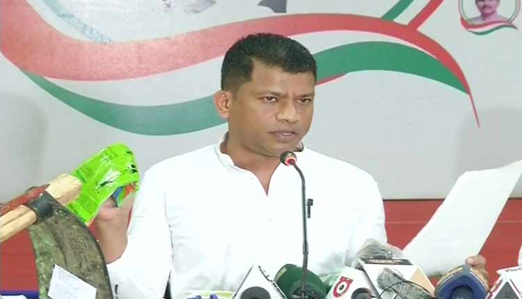 Congress Alleges scam in COVID kits for labourers