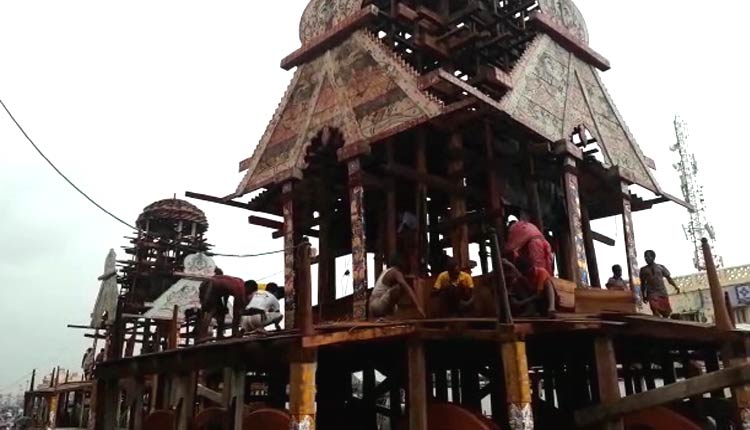 Rath Yatra: Chariot Works In Puri To Be Finished In Next 3 Days