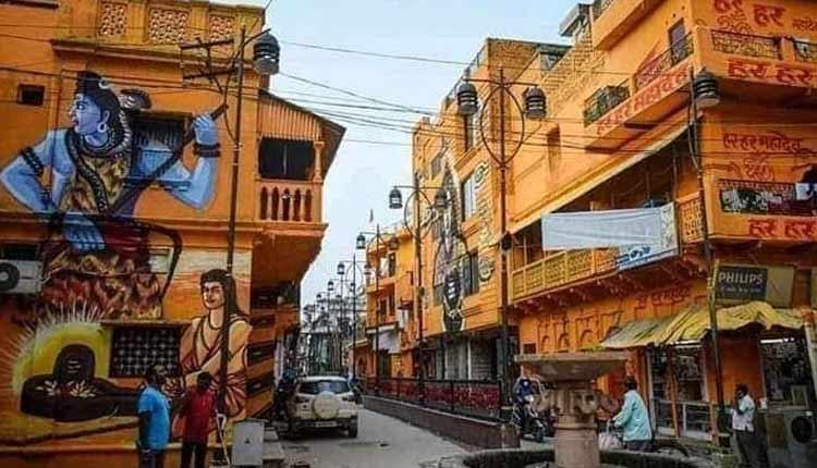 Ayodhya Dips In Yellow Fervour Ahead Of Ram Temple Bhoomi Pujan