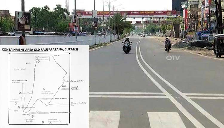CMC Declares Old Rausapatana As Containment Zone