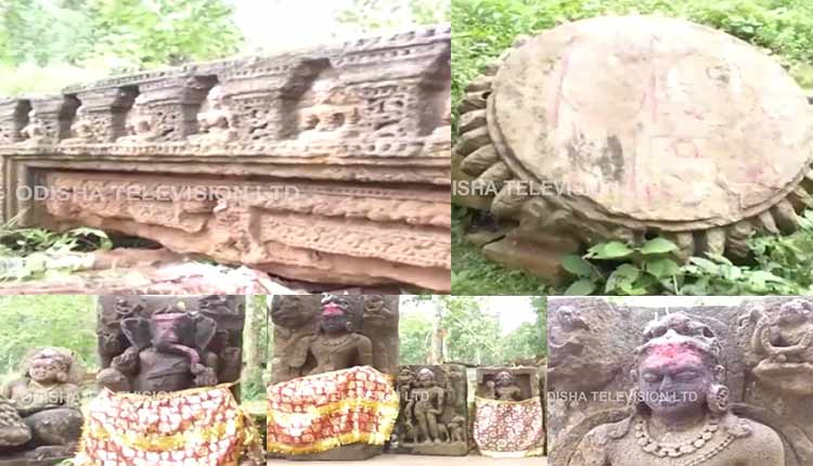 Remains Of '6th-Century AD' Temple Come To Fore In Odisha's Nayagarh