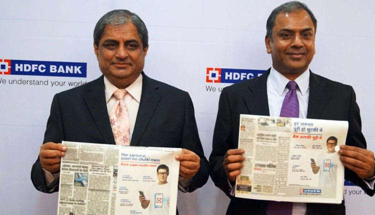 MD Of HDFC Bank Sells Most Of His Stake For Rs 843 Crore