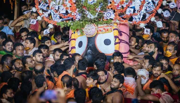 Rath Yatra Concludes With Niladri Bije Of Holy Trinity