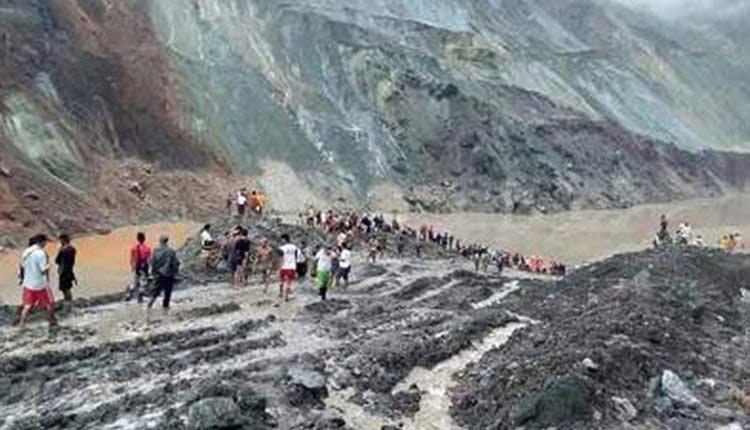 Myanmar Jade Mine Landslide Kills Over 126 Miners, Many Go Missing