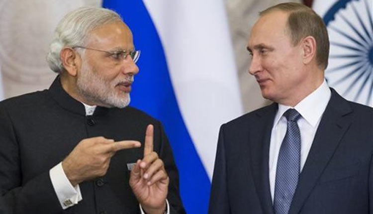 Russia Ready To Strengthen Strategic Partnership With India: Prez Vladimir Putin