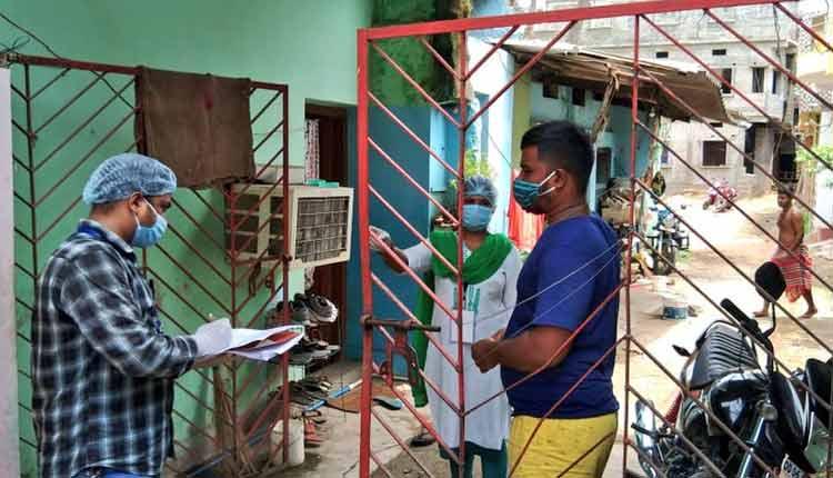 Coronavirus cases in Odisha