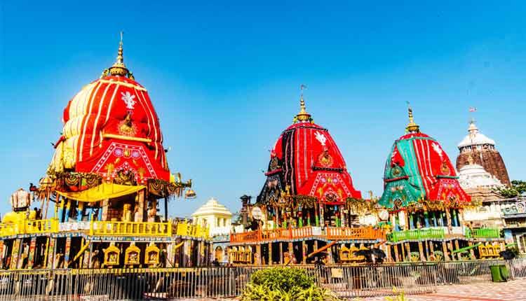 Chariot dismantling process Puri Rath Yatra