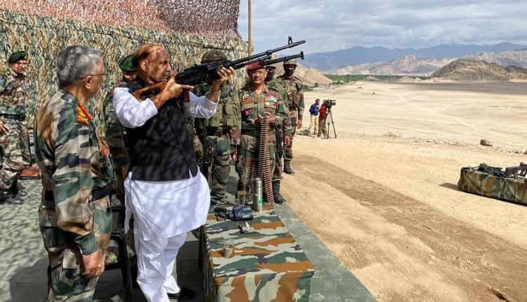 Rajnath Singh Visits Ladakh To Review Forces Preparedness On Ground