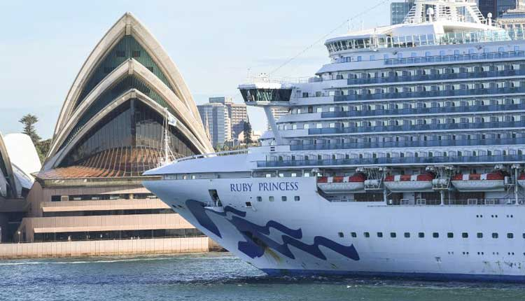 A Cruise Ship Is Linked To 700 COVID19 Cases & 21 Deaths In Australia, Lawsuit Launched