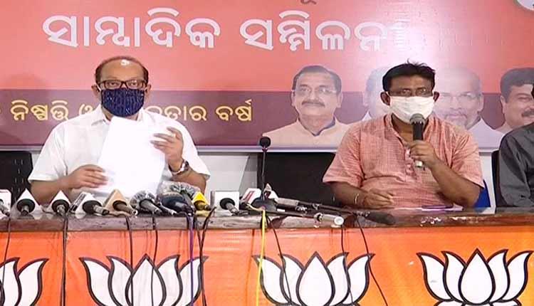 BJP Targets Odisha govt over COVID-19 mismanagement