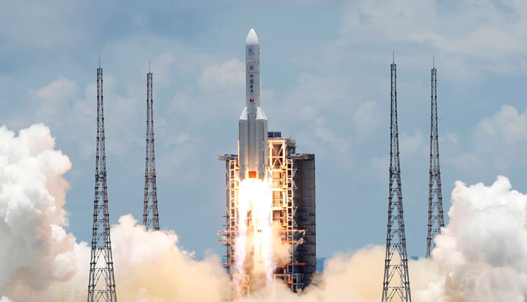 China Launches 1st Rover Mission To Mars