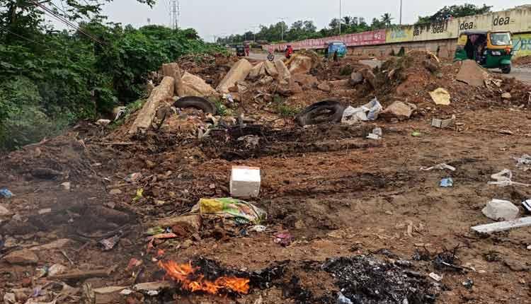 Locals Fume Over Illegal Dumping Yard In Bhubaneswar