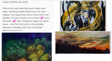 Parineeti Chopra Shares Exquisite Paintings Of Her Mother