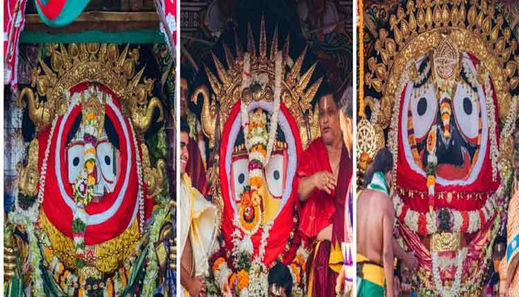 Suna Besha in Puri Rath Yatra