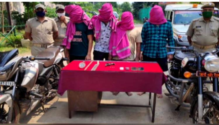 Dacoity Bid Foiled In Cuttack, 4 Tito Gang Members Nabbed