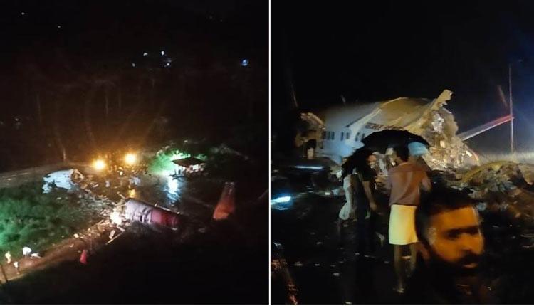 Air India express flight crash at Calicut airport