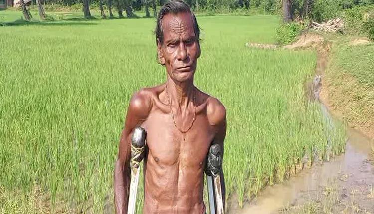 Differently Abled Farmer Gokul Nayak In Odisha's Dhenkanal