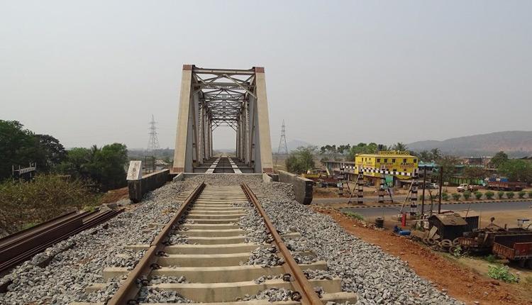 Haridaspur-Paradip railway line