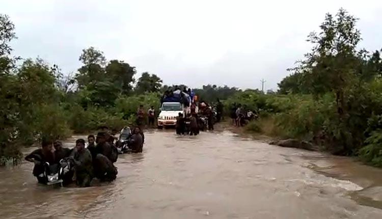 Odisha's Malkangiri Grapples With Flood-Like Situation