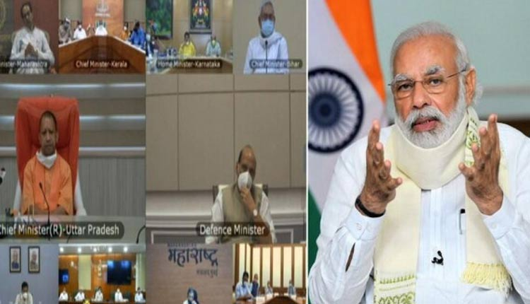 PM Modi Reviews Flood Situation With CMs Of Six States
