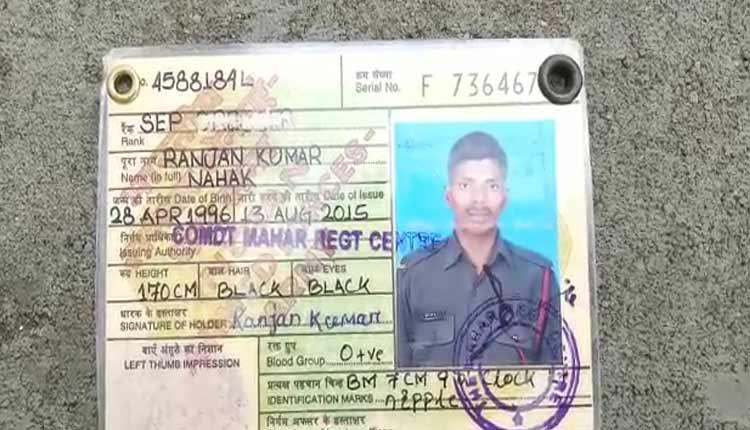 Army jawan killed by mob in Odisha