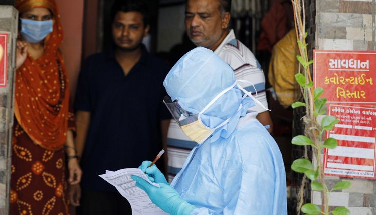India Reports Highest Single-Day Spike Of 69,874 New COVID-19 Cases; Toll At 55,794