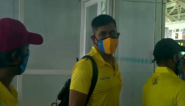 MS Dhoni, Raina CSK Players leave for UAE IPL