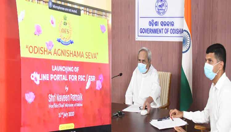 CM Naveen launches online portal for fire safety certificate