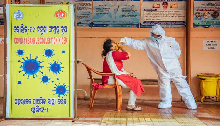 Bhubaneswar Sees Record Surge In COVID-19 Local Contact Cases