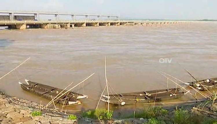 Expected Peak Flood At Mundali