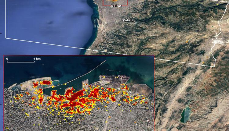 NASA Maps Beirut Blast Damage In High-Precision Image