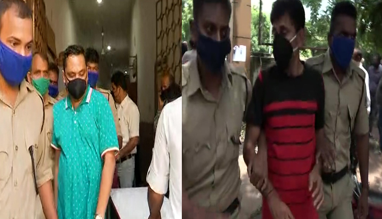 two persons arrested in viral audio clip case