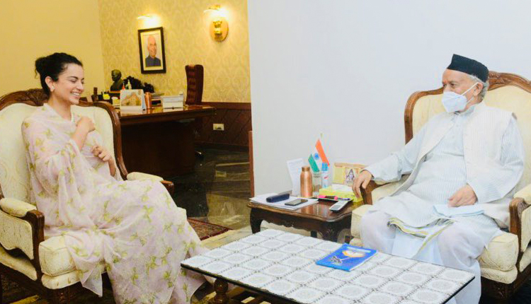Kangana Meets Maharashtra Governor
