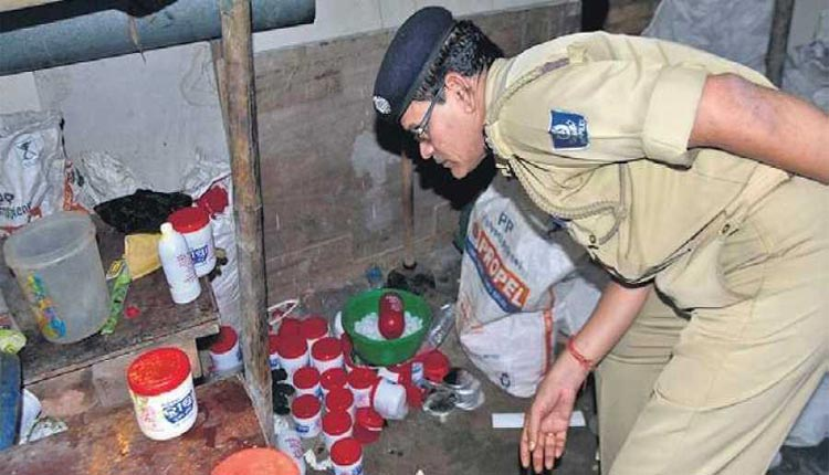 Fake Ghee Factory Busted