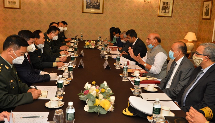 Rajnath Singh, China's Defence Minister Agree To Resolve Border Tensions Through Talks