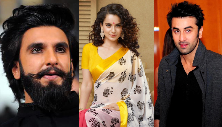 Kangana Requests Ranveer Singh, Ranbir Kapoor & Others To Give Blood Sample For Drug Test