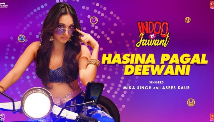 Kiara Advani's 'Hasina Pagal Deewani' From Indoo Ki Jawani Crosses 12M Mark