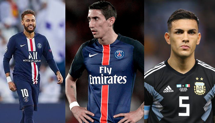 Neymar, Di Maria, Paredes Test Positive For COVID-19