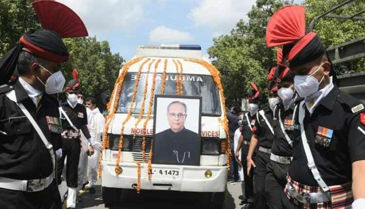 Ex-Prez Pranab Mukherjee Cremated With Military Honours