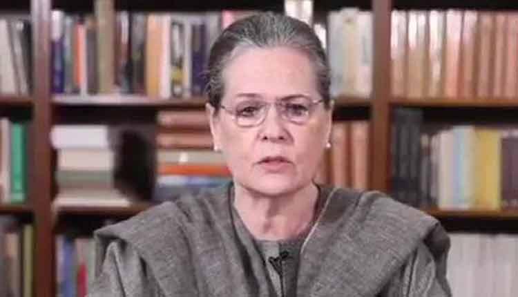 Hathras' 'Nirbhaya' Killed By UP Govt: Cong Interim President Sonia Gandhi