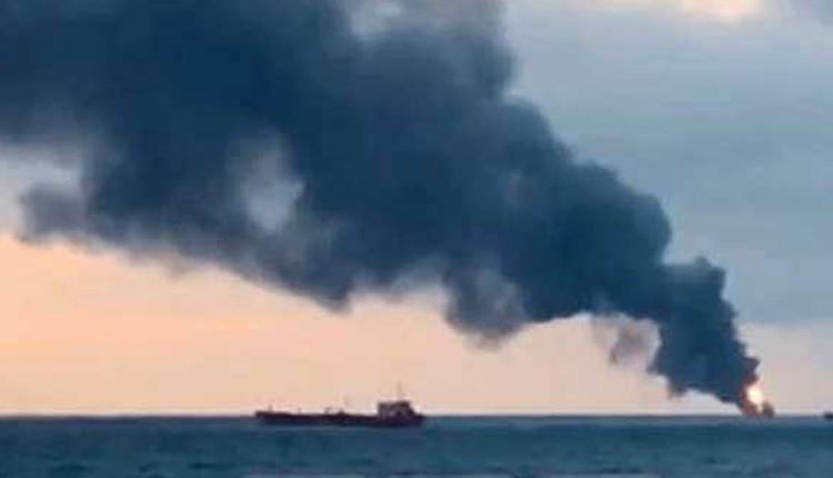 1 Missing, 1 Injured In Fire On Oil Tanker Near Sri Lankan Coast, Lanka Seeks India's Help