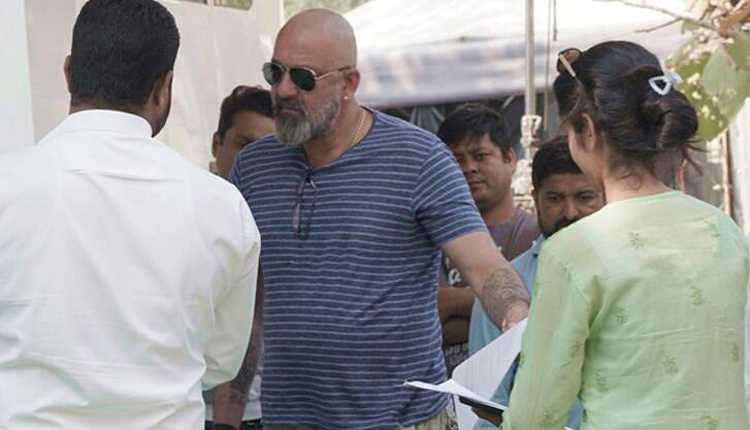 Sanjay Dutt Shoots For Shamshera