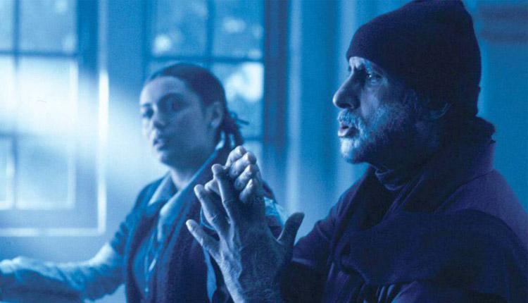 Amitabh Bachchan and Rani Mukherjee in Black