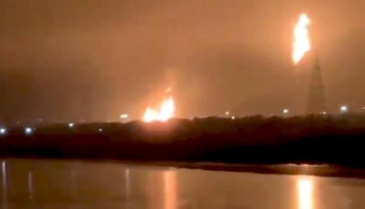 Fire At ONGC Plant