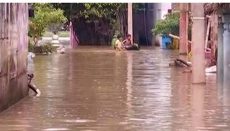 Flood Situation Continues To Remain Grim In Several Odisha Districts