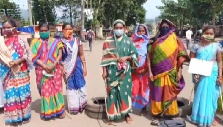 Home Guard 'Thrashes' Villager: Locals Stage Protest Demanding Arrest OF Accused