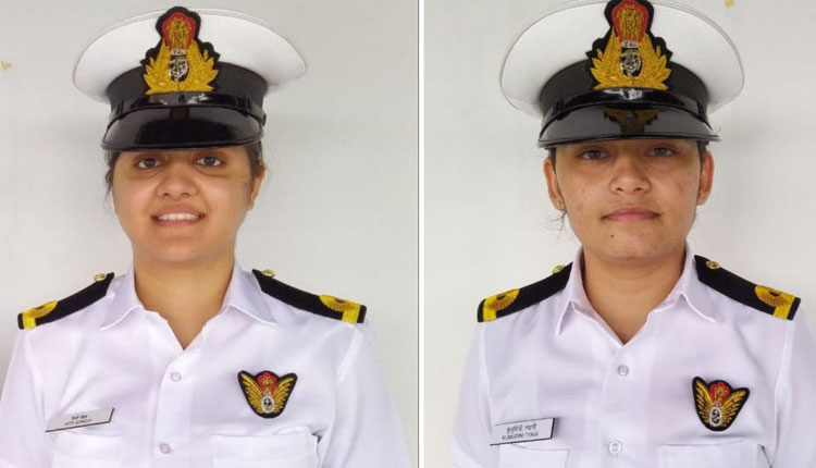 In A First, Two Indian Navy Women Officers To Join Warships Crew